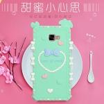 (412-061)เคสมือถือซัมซุง Case Samsung Galaxy C7 เคสนิ่ม 3D Love of Youth