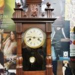 นาฬิกา2ลานลอนดอนจิ๋วjunghansหน้า4.5นิ้วรหัส281057wc2