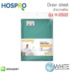 Hospro H-DS02 - Draw sheet ผ้าขวางเตียง (อุปกรณ์ช่วยพลิกตัว) สีเขียวอ่อน