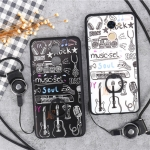 (025-563)เคสมือถือ Case Huawei Y7prime เคสแหวนมือถือพร้อมสายคล้องคอแบบถอดแยกได้