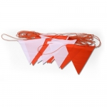 ธงราวพลาสติกรูปสามเหลี่ยม ( Marking Flag Strips )