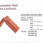 อุปกรณ์ล๊อควาล์วแบบก้านล๊อค AdjustableBall Value Lockout