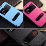 (388-088)เคสมือถือ Samsung Galaxy Note2 เคสพลาสติกฝาพับ PU เปิดด้านข้างโชว์หน้าจอ