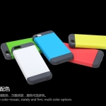 (438-001)เคสมือถือไอโฟน5c Case iPhone5C เคสนิ่มทรงกันกระแทก ROCK