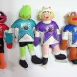 ตุ๊กตา Muppet NHL 4 ตัว