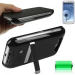 2600mAh Portable Power Bank Samsung Galaxy S 3 III (Black)