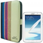 Case เคส Color Stripe Samsung Galaxy Note 8.0 (N5100)