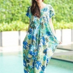 Japanese Dream Summer Linen สีฟ้า