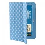 Case เคส Dot Series Samsung Galaxy Note 10.1 (N8000)Blue
