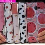 (440-036)เคสมือถือซัมซุง Case Samsung A9 เคสนิ่มขอบสีพื้นหลังลายสวยๆน่ารักๆ