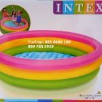 สระน้ำเป่าลม 3 ชั้น 3 สี 147 cm Intex