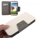 Case เคส แบบซอง สีขาว Samsung GALAXY S4 IV (i9500)
