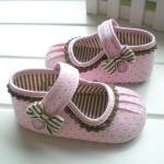 BE2025 (Pre) รองเท้าผ้า สาวน้อย (0-1 ขวบ)