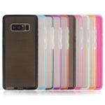 (436-290)เคสมือถือซัมซุง Case Samsung Galaxy Note8 เคสนิ่มพื้นหลังลายจุดขอบสีหวานๆน่ารักๆ