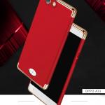(025-566)เคสมือถือ Case OPPO Neo 5/A31 เคสพลาสติกสีสดใสขอบแววสไตล์แฟชั่น