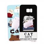 (616-011)เคสมือถือซัมซุง Case Note5 เคสตัวนุ่มนิ่ม บี้ๆน่ารักๆ Trending Squishy 3D Destress