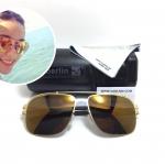 แว่นกันแดด ic berlin wetterfahe matt gold 61-16 <ปรอททอง>