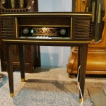 วิทยุหลอด Loewe Opta Rundfunktisch 2454T ปี 1954 รหัส25857tr5