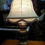 โคมไฟตั้งโต๊ะทองเหลืองเยอรมัน รหัส9557tl
