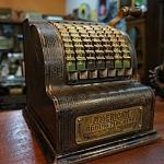 เครื่องคิดเลข mini america adding machine