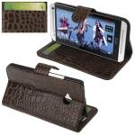 Crocodile HTC One (M7) (Brown)