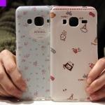(440-017)เคสมือถือซัมซุง Case Samsung Galaxy J3 เคสนิ่มพื้นหลังลายสวยๆน่ารักๆ
