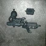 Dark Angels Deathwing Assault Cannon