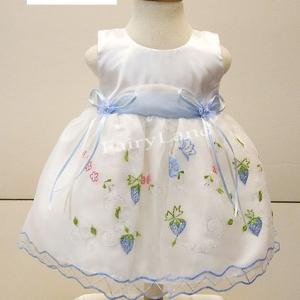 เสื้อผ้าเด็กเล็กวัยหัดเดินใส่ออกงานไปงานแต่งสีขาว BL171