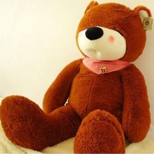 ตุ๊กตาหมีหลับ สีน้ำตาลเข้ม ขนาด 1.2 m.