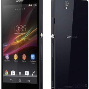Sony Xperia Z (L36h) -สีขาว , สีดำ