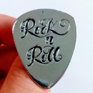 Rock & Roll Guitar Pick Open Ring Music Series แหวนรูปปิ๊กกีตาร์ ปรับระดับได้