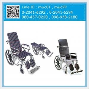 รถเข็นผู้ป่วยปรับนอน (Recline Wheelchair)