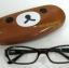 Rilakkuma กล่องแว่นตา แบบหนังอย่างดี thumbnail 1
