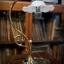 โคมไฟตั้งโต๊ะทองเหลือง รหัส231160tl thumbnail 5