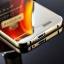 (025-170)เคสมือถือ Case Huawei Ascend G7 เคสกรอบโลหะพื้นหลังอะคริลิคเคลือบเงาทอง 24K thumbnail 3