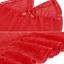 2in1 Sexy Ctrue Dress ชุดนอนซีทรูสีแดงคล้องคอผูกหลังแต่งระบายชาย พร้อมจีสตริง thumbnail 4