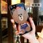 (025-572)เคสมือถือ Case Oppo A33/Neo7 เคสนิ่มลายหมี พร้อมสายคล้องคอแบบถอดแยกได้ thumbnail 4