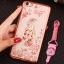 (025-551)เคสมือถือวีโว Vivo X9S Plus เคสนิ่มซิลิโคนใสลายหรูติดคริสตัล พร้อมแหวนเพชรวางโทรศัพท์ และสายคล้องคอกดแยกออกได้ thumbnail 8
