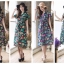 Vintage Orchid ShirtDress มี 4 สีค่ะ thumbnail 1