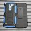 (002-128)เคสมือถือ Case LG G3 STYLUS เคสนิ่ม+พื้นหลังประกบแบบพลาสติก+มีขาตั้ง+ที่เหน็บเอวสไตล์กันกระแทก thumbnail 8