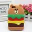 (006-032)เคสมือถือไอโฟน case iphone 5/5s/SE เคสนิ่มตัวการ์ตูนน่ารักๆ สไตล์ 3D หลากหลายรูปแบบ thumbnail 41