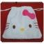ถุงผ้าหูรูด ลาย Hello Kitty ฮัลโหล คิตตี้ ขนาด 7x8 นิ้ว (ซื้อ 12 ชิ้น ราคาส่งชิ้นละ 100 บาท) คละลายได้ thumbnail 1