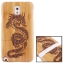 Woodcarving Dragon Pattern Detachable Bamboo Material Case เคส Samsung Galaxy Note 3 (III) / N9000 ซัมซุง กาแล็คซี่ โน๊ต 3 thumbnail 1