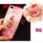 (025-643)เคสมือถือไอโฟน Case iPhone7 Plus/iPhone8 Plus เคสนิ่มลายประดับคริสตัลลายดอกไม้พร้อมแหวนเพชรมือถือและสายคล้องคอถอดแยกได้ thumbnail 1