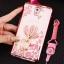 (598-001)เคสมือถือซัมซุงโน๊ต Note3 Neo เคสนิ่มซิลิโคนใสลายหรูติดคริสตัล พร้อมแหวนเพชรวางโทรศัพท์ และสายคล้องคอกดแยกออกได้ thumbnail 5