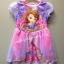 Sofia---ชุดกระโปรงผ้ามัน เจ้าหญิงโซเฟีย สีม่วงอ่อนๆ น่ารักมากๆค่ะ size 2t, 4t thumbnail 1