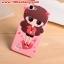 (128-083)เคสมือถือวีโว่ Vivo Y35 เคสนิ่มตัวการ์ตูนผู้หญิง 3D น่ารักๆ thumbnail 10