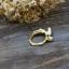 เกาหลีฟีเวอร์ Moon & Rabbit Ring แหวนกระต่ายหมายจันทร์ แหวนเบอร์ 7 thumbnail 2
