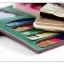 กระเป๋าสตางค์ใบยาว ประดับเข็มกลัดตัว H สี Pink หนัง PU นิ่ม thumbnail 3