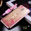 (025-844)เคสมือถือซัมซุง Case Samsung J7+/Plus/C8 เคสนิ่มซิลิโคนใสลายดอกไม้หรูติดคริสตัล พร้อมแหวนเพชรวางโทรศัพท์และสายคล้องคอแบบถอดแยกได้ thumbnail 7